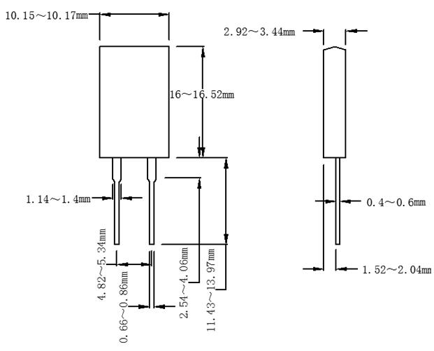 to-220封装方式. 2.20w超大功率使用.